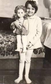 Bianca Brad, in copilarie