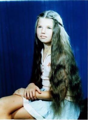 Inca din copilarie, Paula Seling are aproape acelasi look