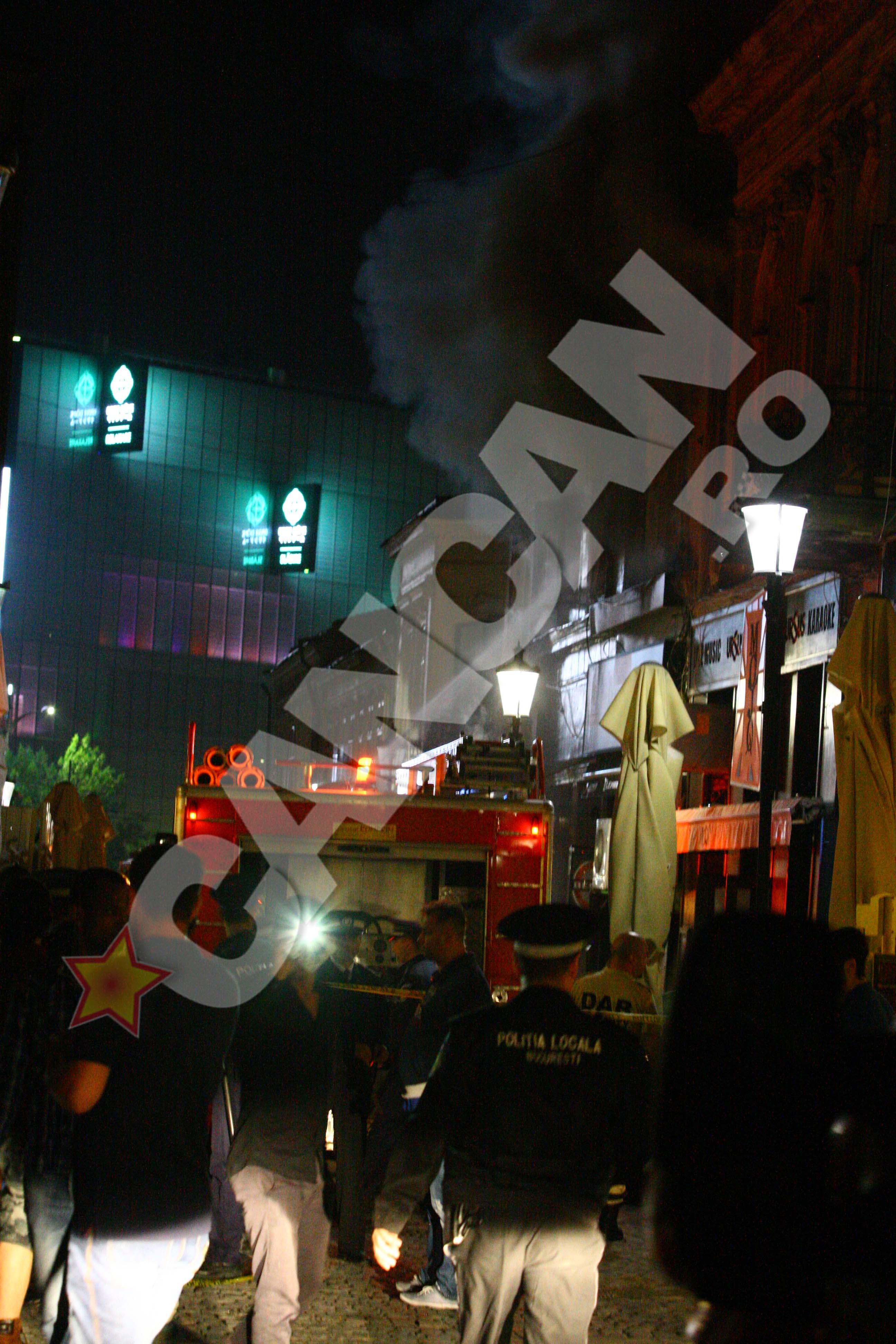 incendiu Centru vechi