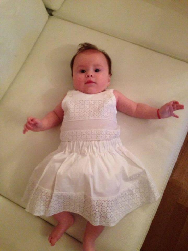 Fetita Oanei Roman a implinit patru luni pe 21 iunie