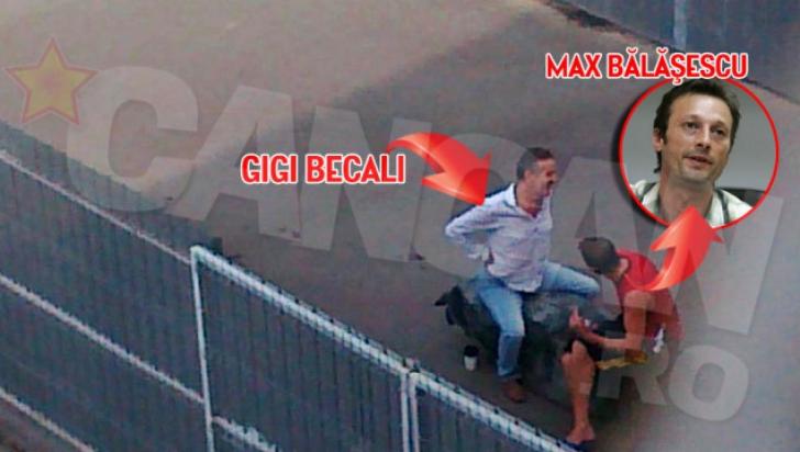 Balasescu a fost inchis impreuna cu Gigi Becali