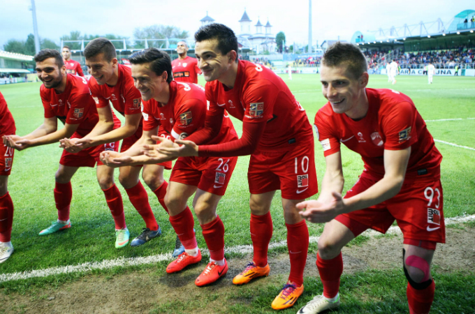 Laurentiu Rus este unul dintre cei mai linistiti jucatori din lotul lui Dinamo