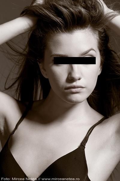 Calina a fost cooptata de o agentie de modelling din Italia