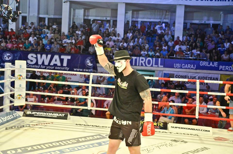 Alex Filip are stilul lui de a se bucura la finalul luptelor