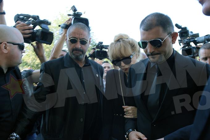 Dana Patriciu a fost sprijinita de fiul ei, Andrei