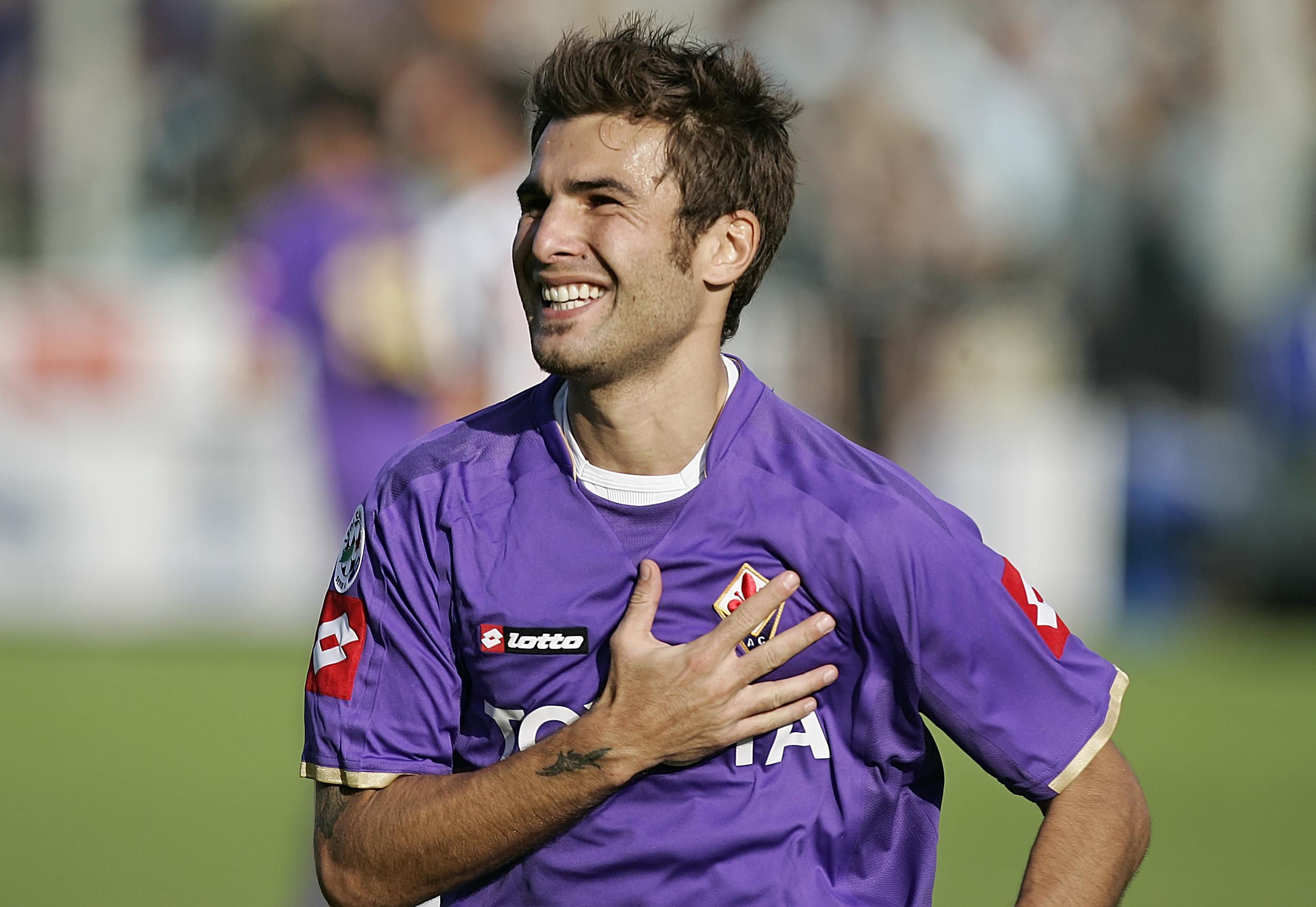 54 de goluri a inscris Adrian Mutu pentru Fiorentina in cele 112 meciuri in care a imbracat tricoul Viola