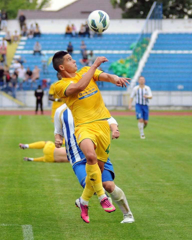 In trecut, Alexandru Buziuc a jucat pentru SC Vaslui