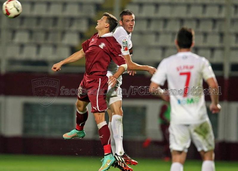 Steliano Filip a fost unul dintre cei mai buni jucatori ai lui Dinamo in meciul cu Rapid