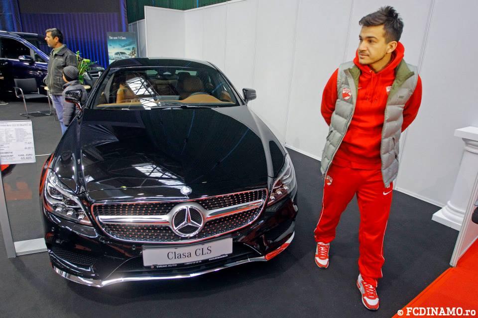 Cosmin Matei a primit, la randul lui, un Mercedes din partea sponsorului Tiriac Auto