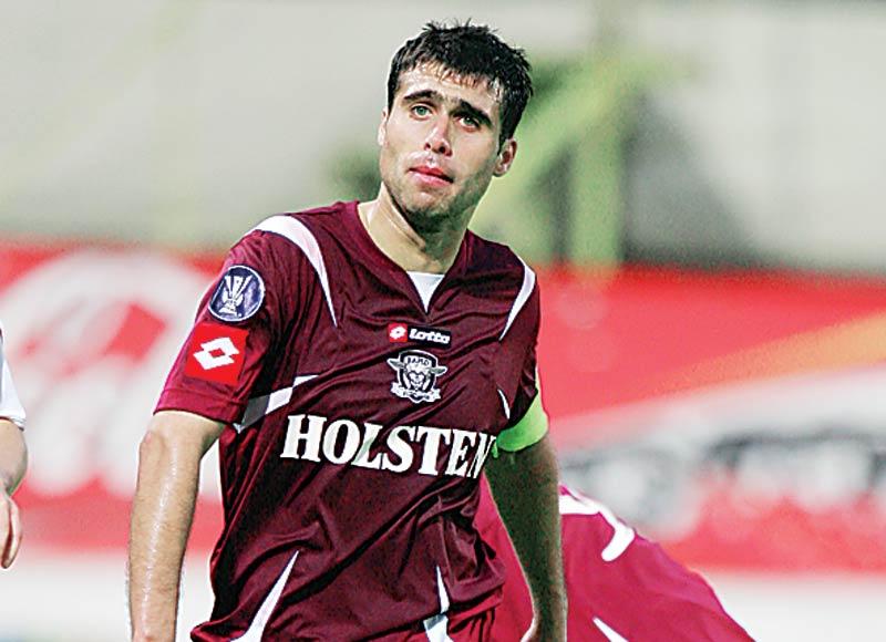 Vasile Maftei a mai jucat la Rapid, iar in prezent evolueaza la Concordia Chiajna