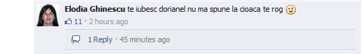 Acesta este mesajul postat pe pagina de socializare a lui Dorian Popa