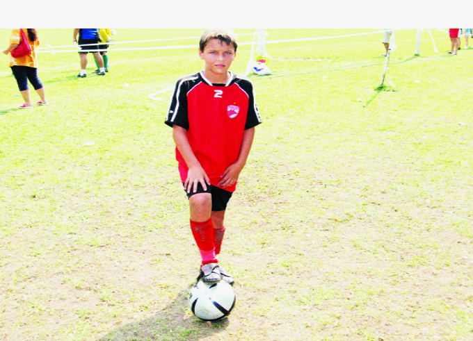 In trecut, fiul lui Ionel Ganea a mai evoluat in tricoul lui Dinamo, echipa lui de suflet