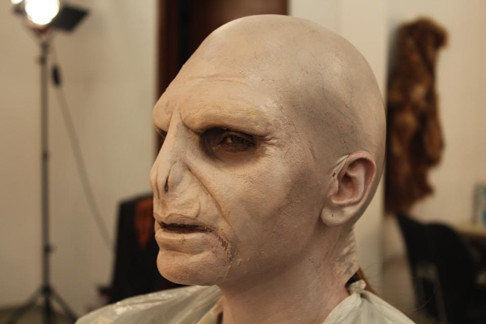 Anna Lesko a purtat o masca pentru o emisiune tv