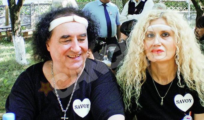Marian Nistor si sotia lui, Dorina