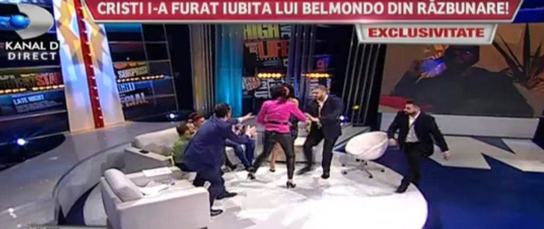 Cumnata lui Pepe s-a luat la bataie cu rivala ei
