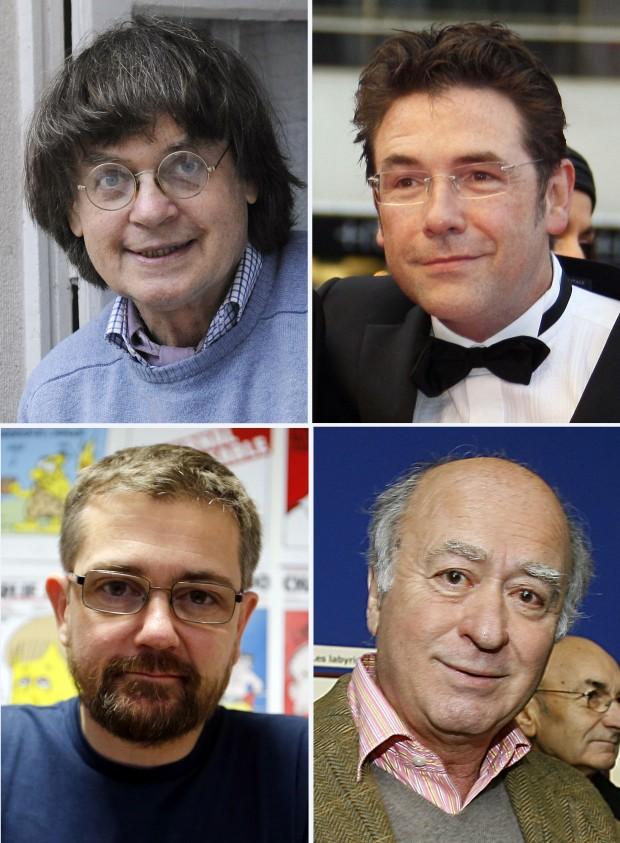 Cei mai celebri caricaturisti francezi au fost ucisi cu sange rece