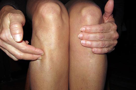 Punctul Longevitatii este localizat sub rotula genunchiului