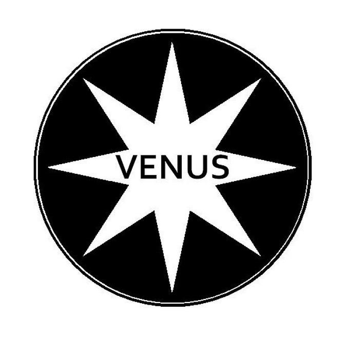 Aceasta este emblema lui Venus Bucuresti, formatier reinfiintata in 2013. Venus a castigat opt titluri de campioana a Romaniei