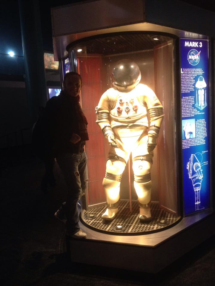 Traistariu si-a dorit enorm sa se faca cosmonaut