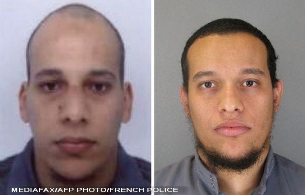 Cei doi frati, teroristi, au fost impuscati mortal