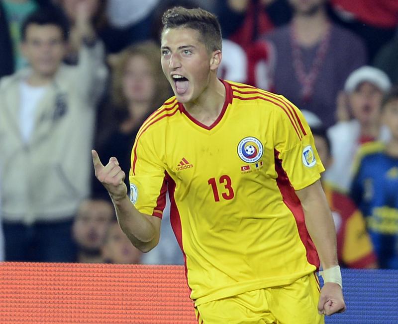 Gicu Grozav a inscris un gol foarte important contra Turciei, la Istanbul, in victoria Romaniei din preliminariile pentru CM 2014