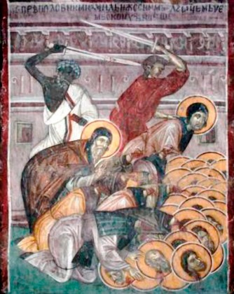 Sfinţii Cuvioşi Mucenici din Sinai şi Rait