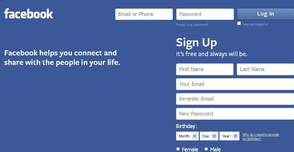 Regulile facebook impun varsta minima de 16 ani la inscriere
