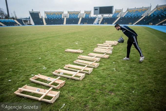 Acestea sunt imaginile de pe stadionul pe care joaca Pulhac