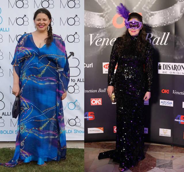 De la 110 kilograme, Rita Muresan a ajuns sa cantareasca aproximativ 65