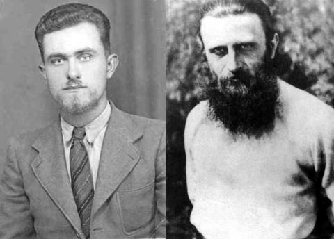 In 1939, studentul de la Teologie, Zian Boca, a imbratisat viata monahala la Sambata de Sus, pentru ca, un an mai tarziu, sa primeasca numele de Arsenie (sursa foto: roncea.ro)