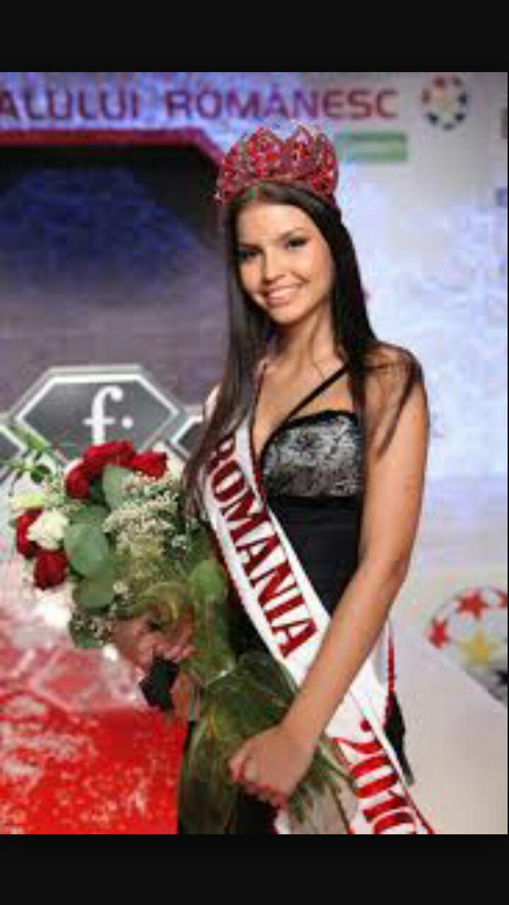 Tanara a fost Miss Romania in 2010