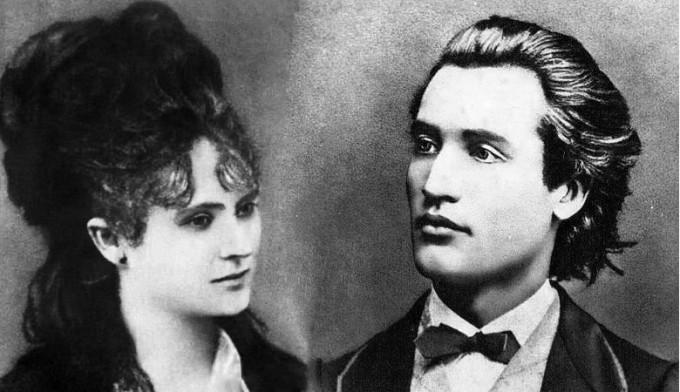 Iubirea dintre Mihai Eminescu si Veronica Micle a fost una dintre cele mai tumultuoase din istoria Literaturii romane