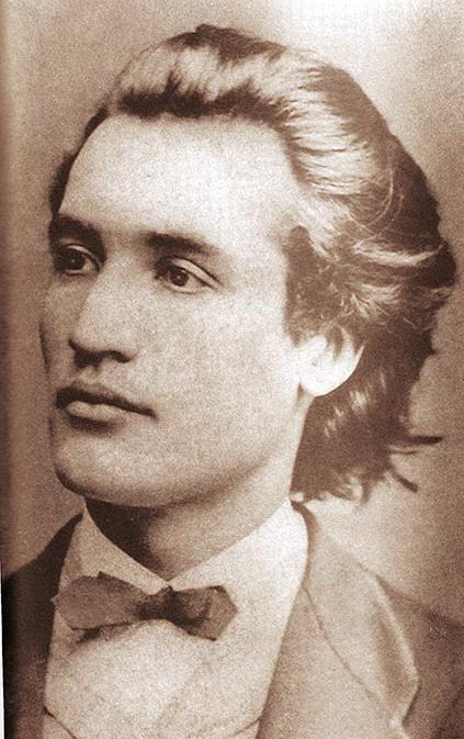 In 1869, la varsta de 19 ani, Eminescu a plecat la studii la Viena, acolo unde avea sa o cunoasca si pe Veronica