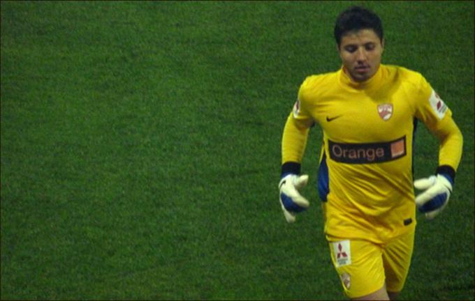 Cristi Balgradean in vremea in care apara la Dinamo