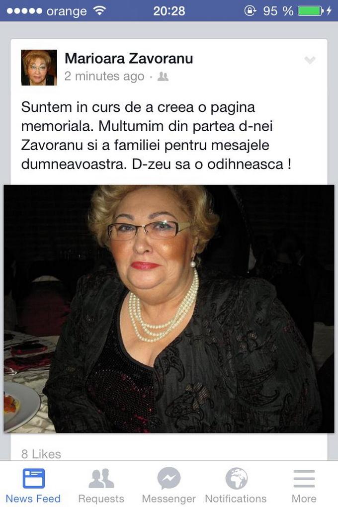 facebook marioara zavoranu