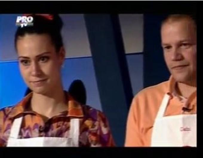 Gabi si Andreea la Masterchef