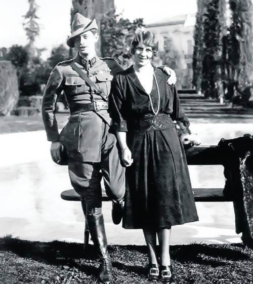 Carol al II-lea si principesa Elena a Greciei, la putin timp dupa casatorie