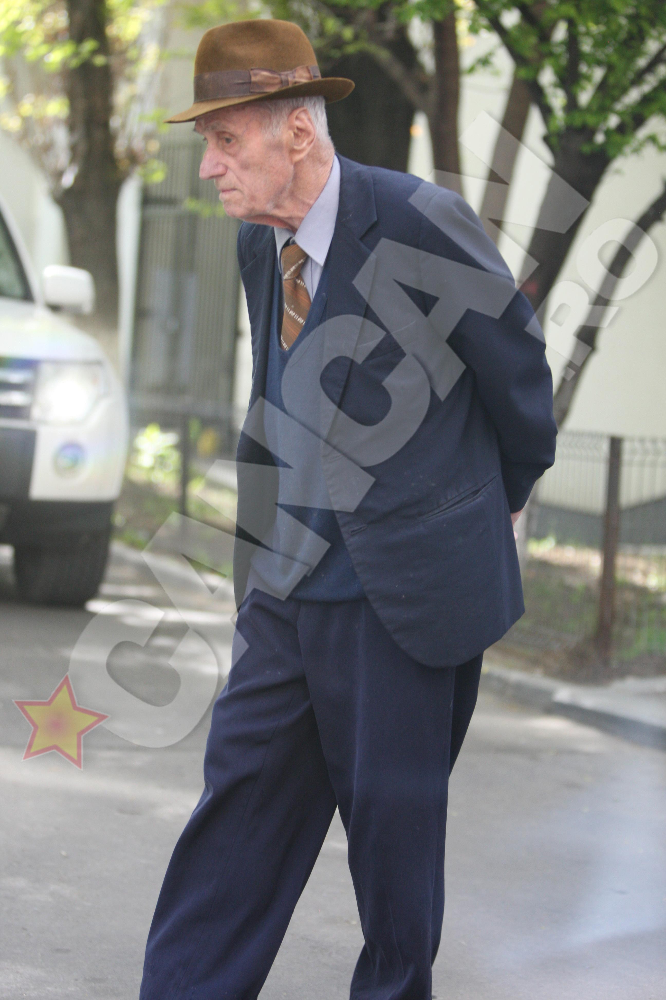 La prima vedere, pensionarul Visinescu parea un