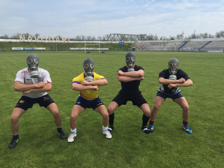 rugby masca