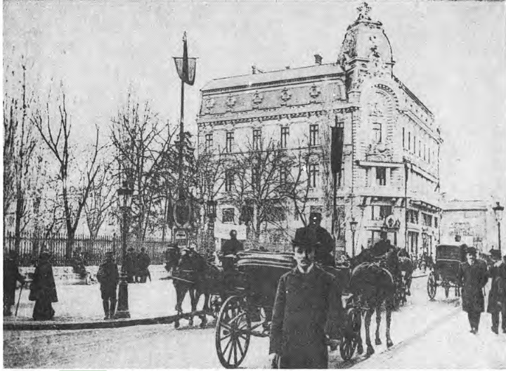 Cafeneaua High-life de pe Calea Victoriei era in 1914 una dintre locatiile preferate de protipendada