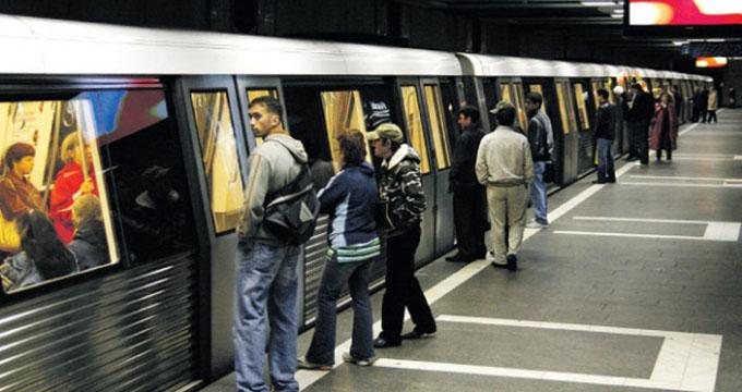 femeie metrou