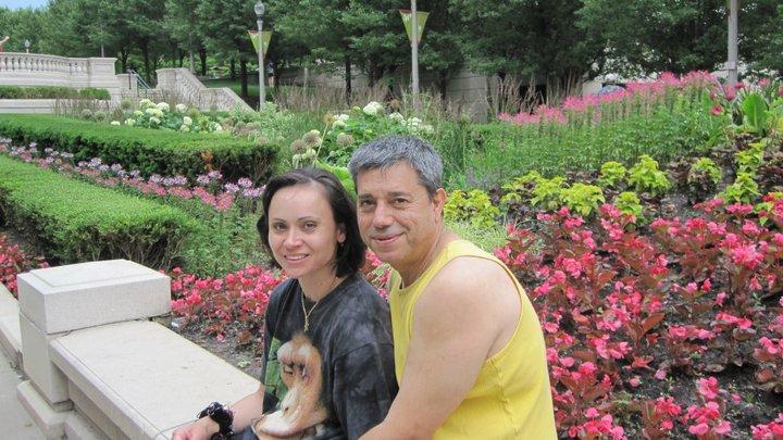 Aurelia Dobre si sotul ei