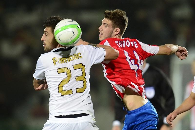 Tudorie a inscris primul sau gol in Liga 1 in poarta celor de la Steaua