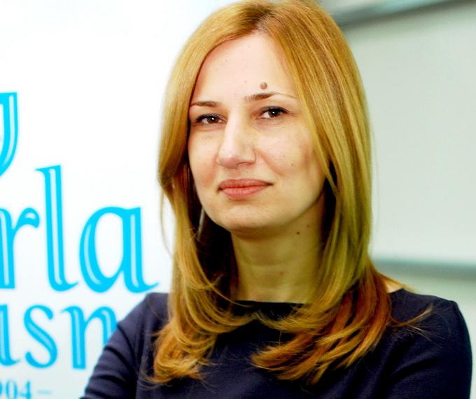 Violeta Moraru este prezenta la fiecare meci pe care Rapidul il disputa pe teren propriu