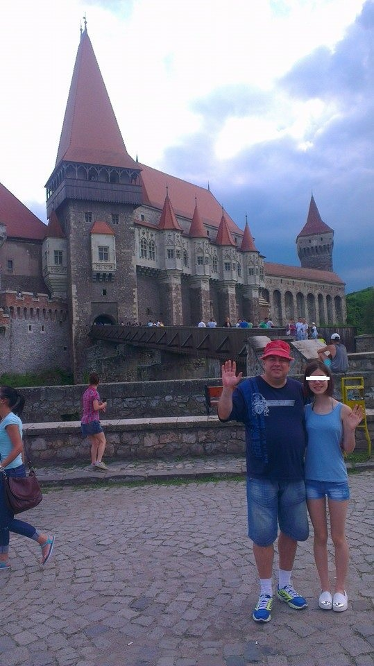 Toni Ionescu si fiica lui