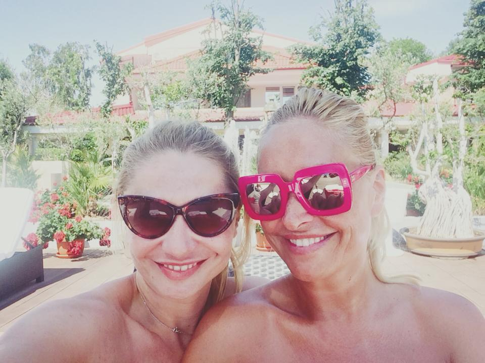 Vica Blochina si Cristina Cioran