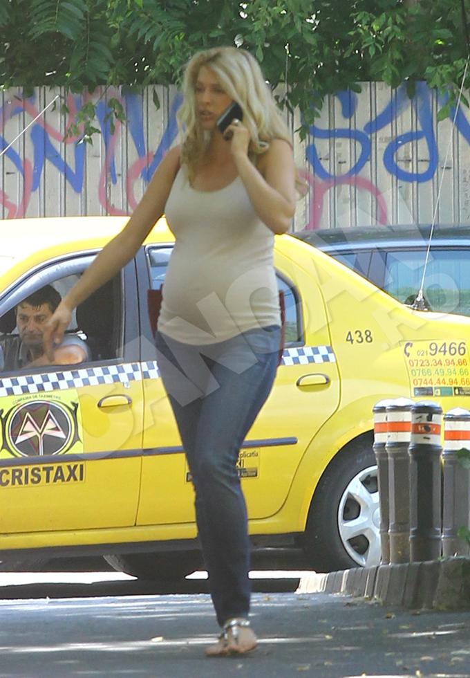 Alina Borcea a fost pozata de CANCAN.ro cu putin timp inainte sa nasca