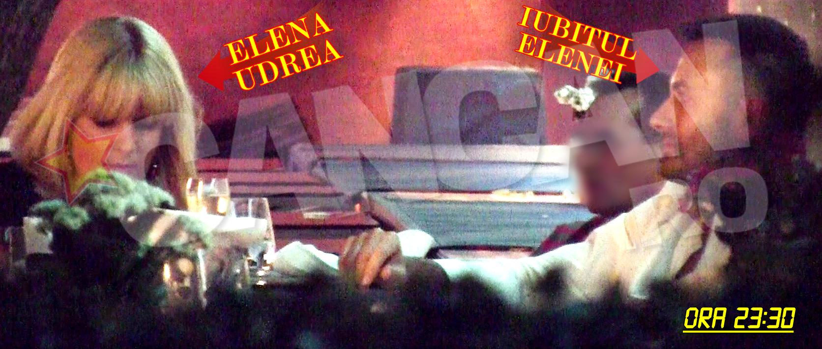 Joi, 25 iunie 2015 - ora 23.30. Elena si Valentin au luat o cina romantica intr-un restaurant de fite din Herastrau