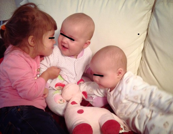 Doru este tatal a trei fetite superbe