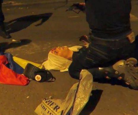Tanarul a fost impuscat de un politist local